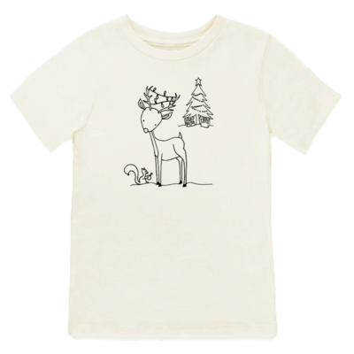 Tenth & Pine - Christmas Reindeer // Short Sleeve Tee