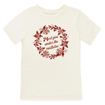 Tenth & Pine - Meet Me Under the Mistletoe // Short Sleeve Tee