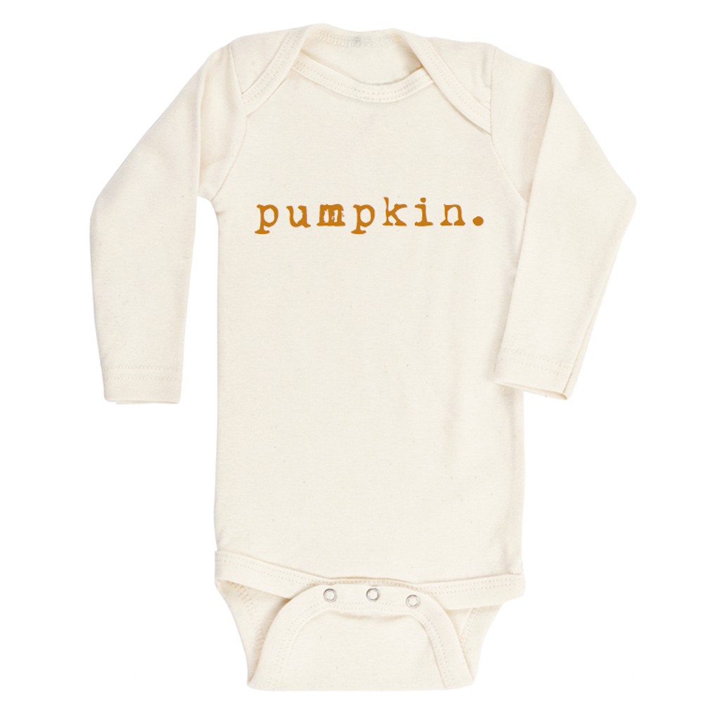 Tenth & Pine - Pumpkin Long Sleeve Bodysuit