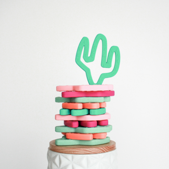 Little Teether - Cactus Teething Toy
