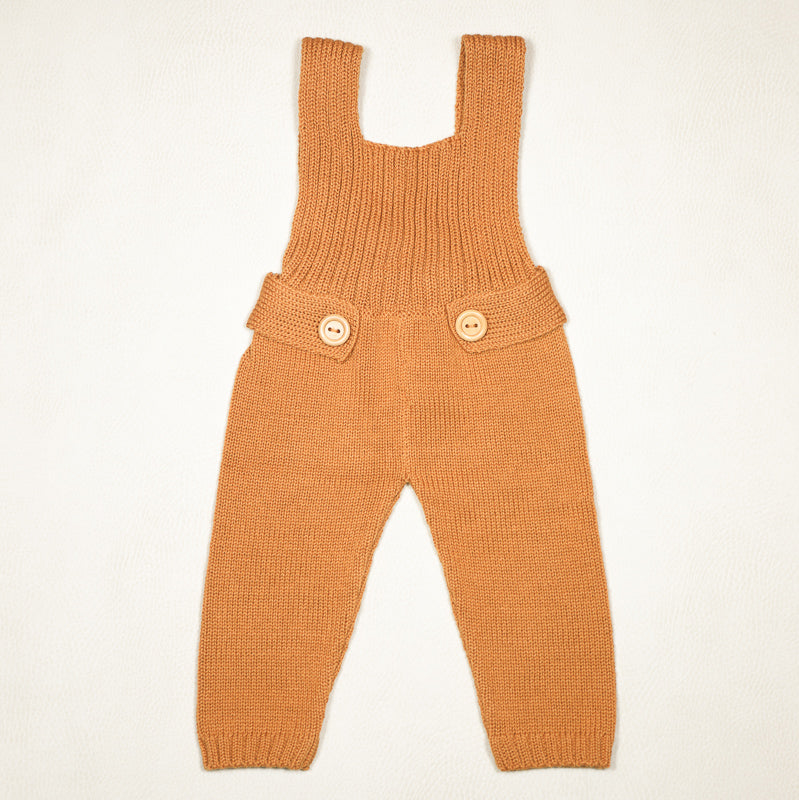 Petite Coo - Belted Overall- Amber