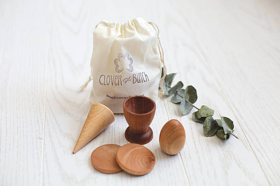 Clover and Birch - Busy Bag- Egg Cup Set
