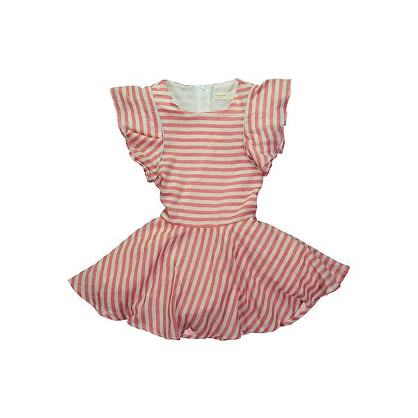 Mademoiselle a SOHO - Red Stripes Tigress Dress