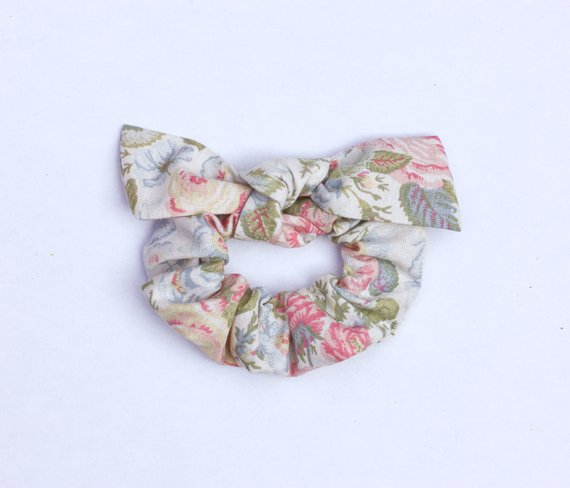 Camryn Girl Handmade - Vintage Knot Scrunchie Bow