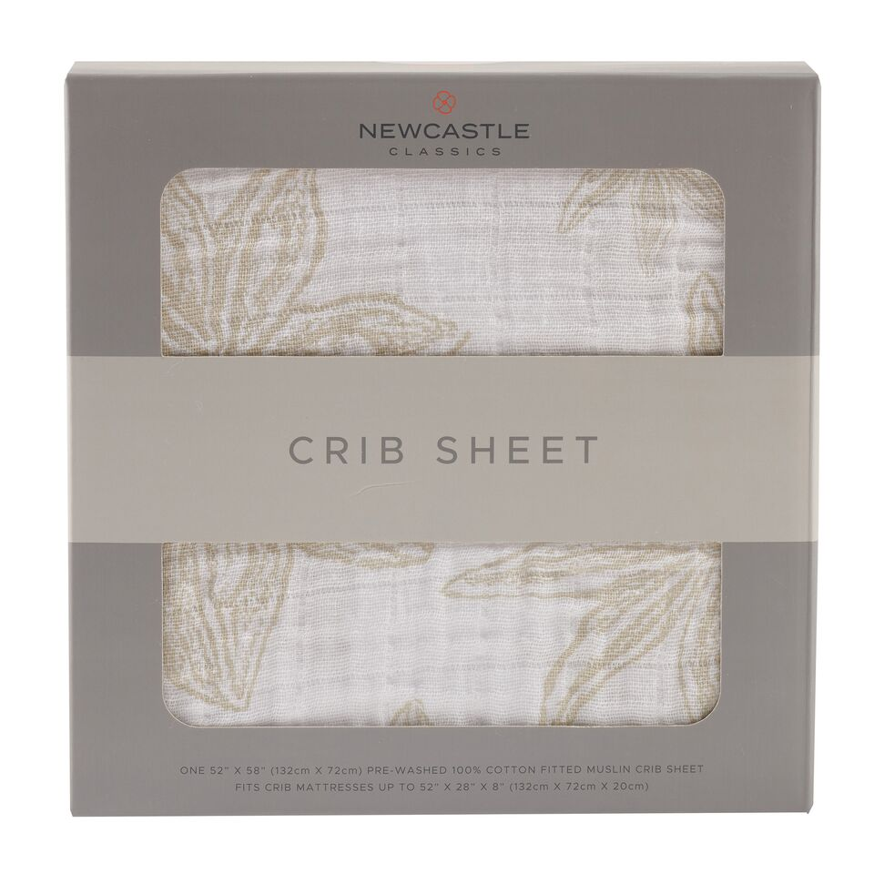 Newcastle Classics - Star Anise Crib Sheet