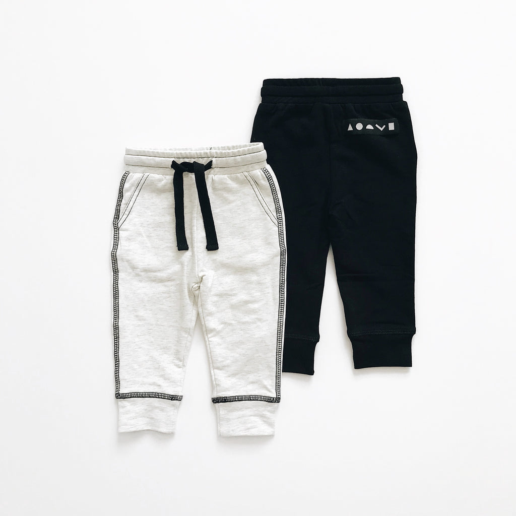 Orcas Lucille - Pocket Joggers - Heather Grey