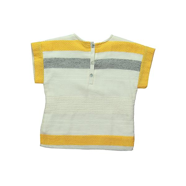 Mademoiselle a SOHO - Yellow Lacery Dina Top
