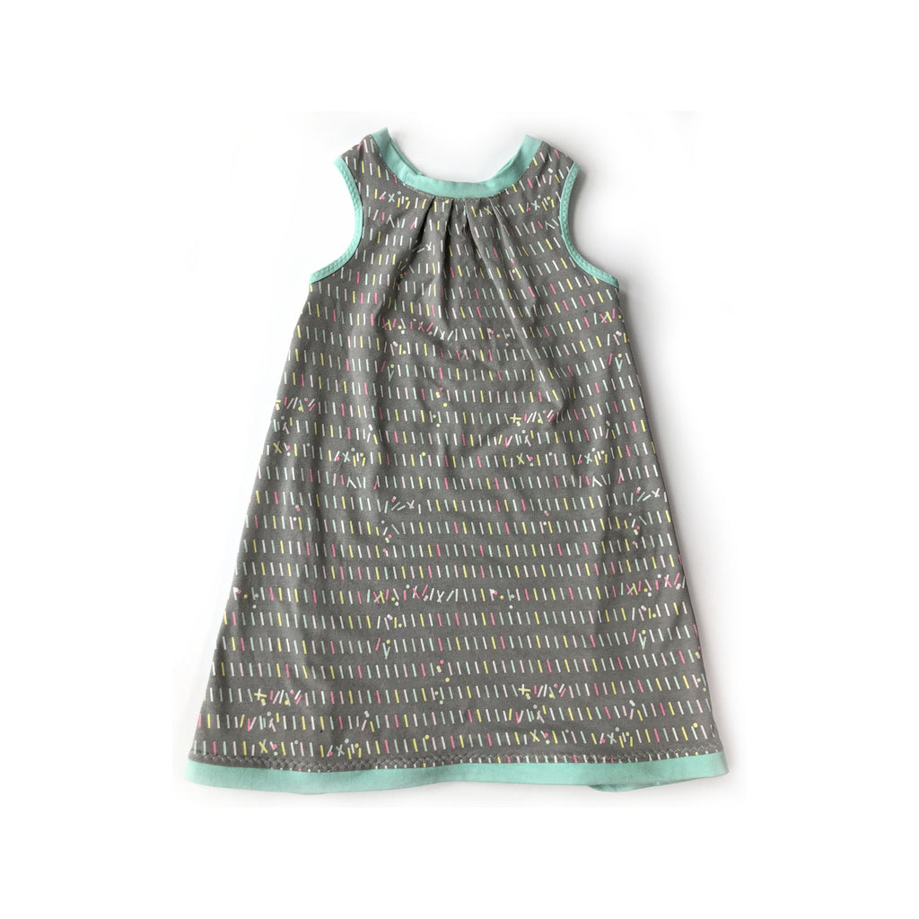The Tiny Hedgehog - Tunic Dress: Sprinkles