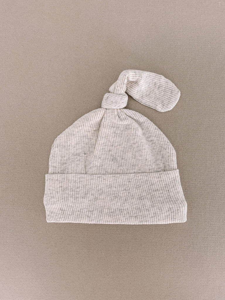Brixton Phoenix - Natural Heather Ribbed Beanie