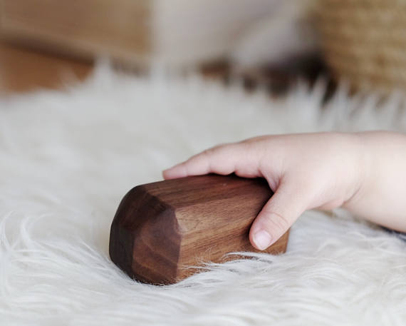 Clover and Birch - Walnut Shaker Rattle