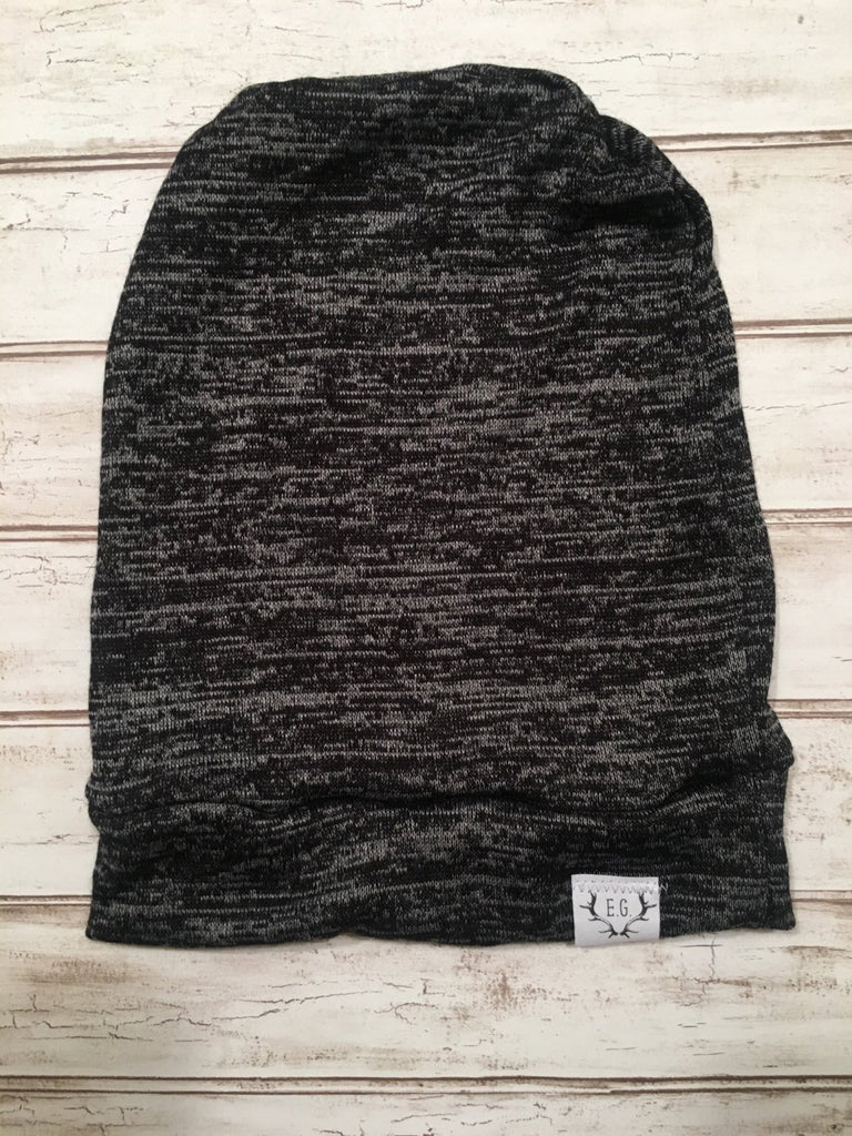 Heather Grey sweater knit slouchy