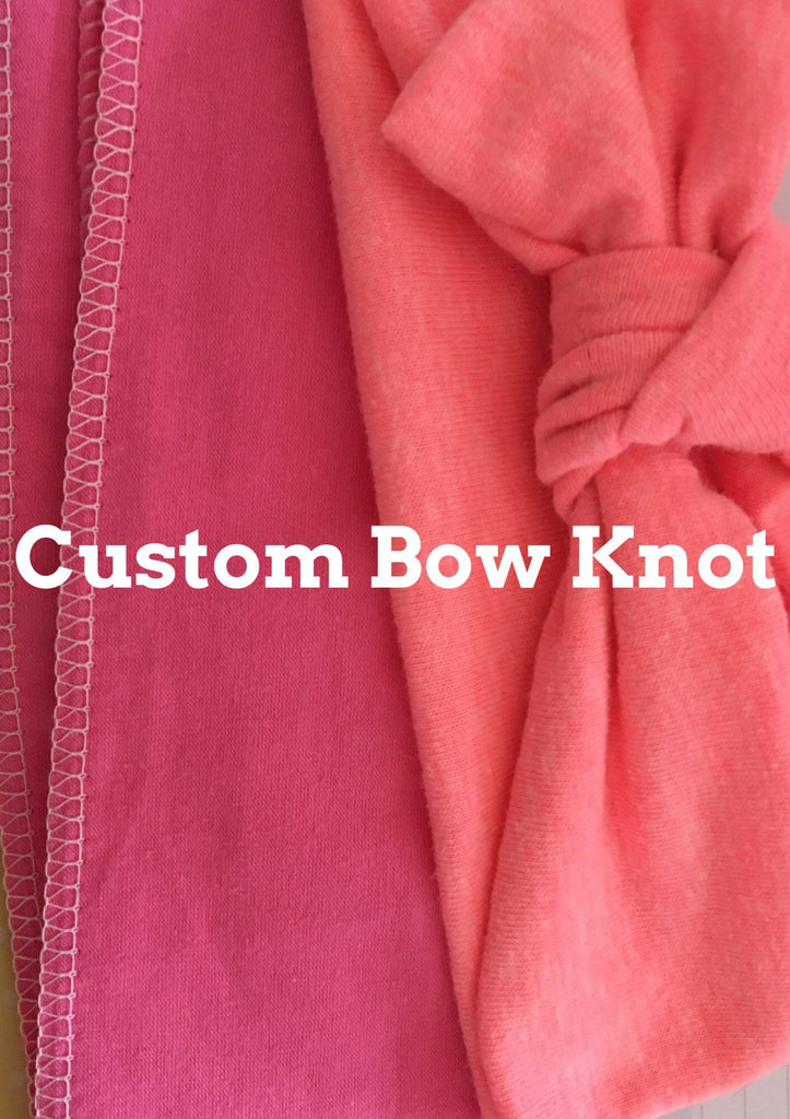 Custom Bow Knot -please specify color!