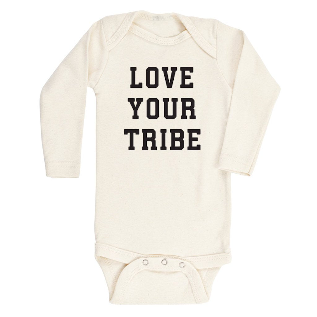 Tenth & Pine - Love Your Tribe Long Sleeve Onesie