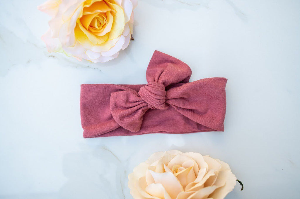Emma Grace Shoppe- Dusty Rose Bow Knot