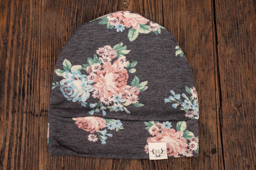 Floral French Terry Slouchy
