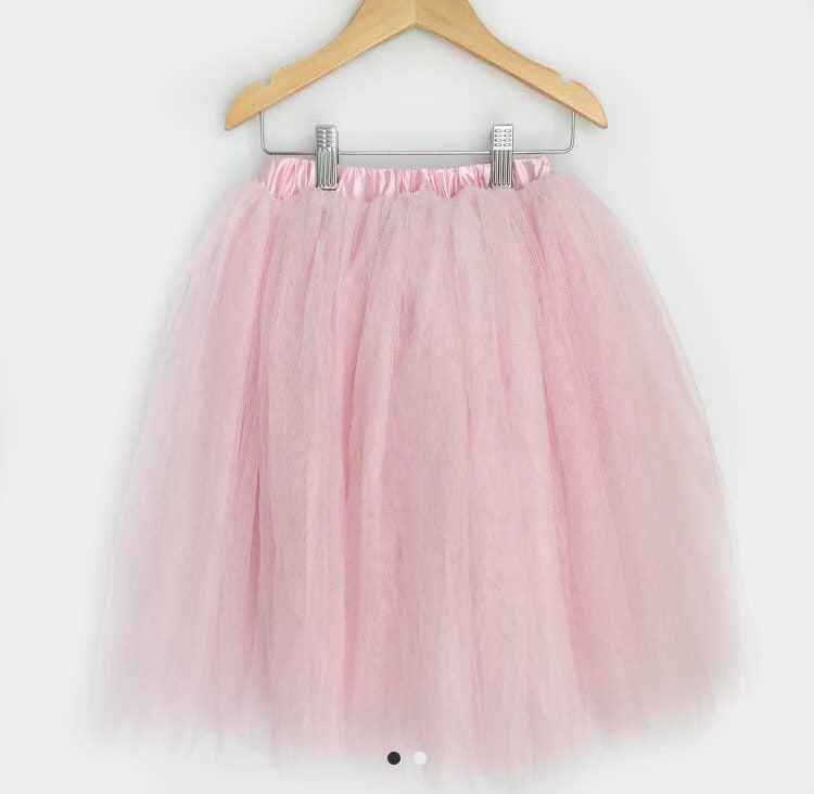 Carken Design - // Pink Full Length Tulle Skirt