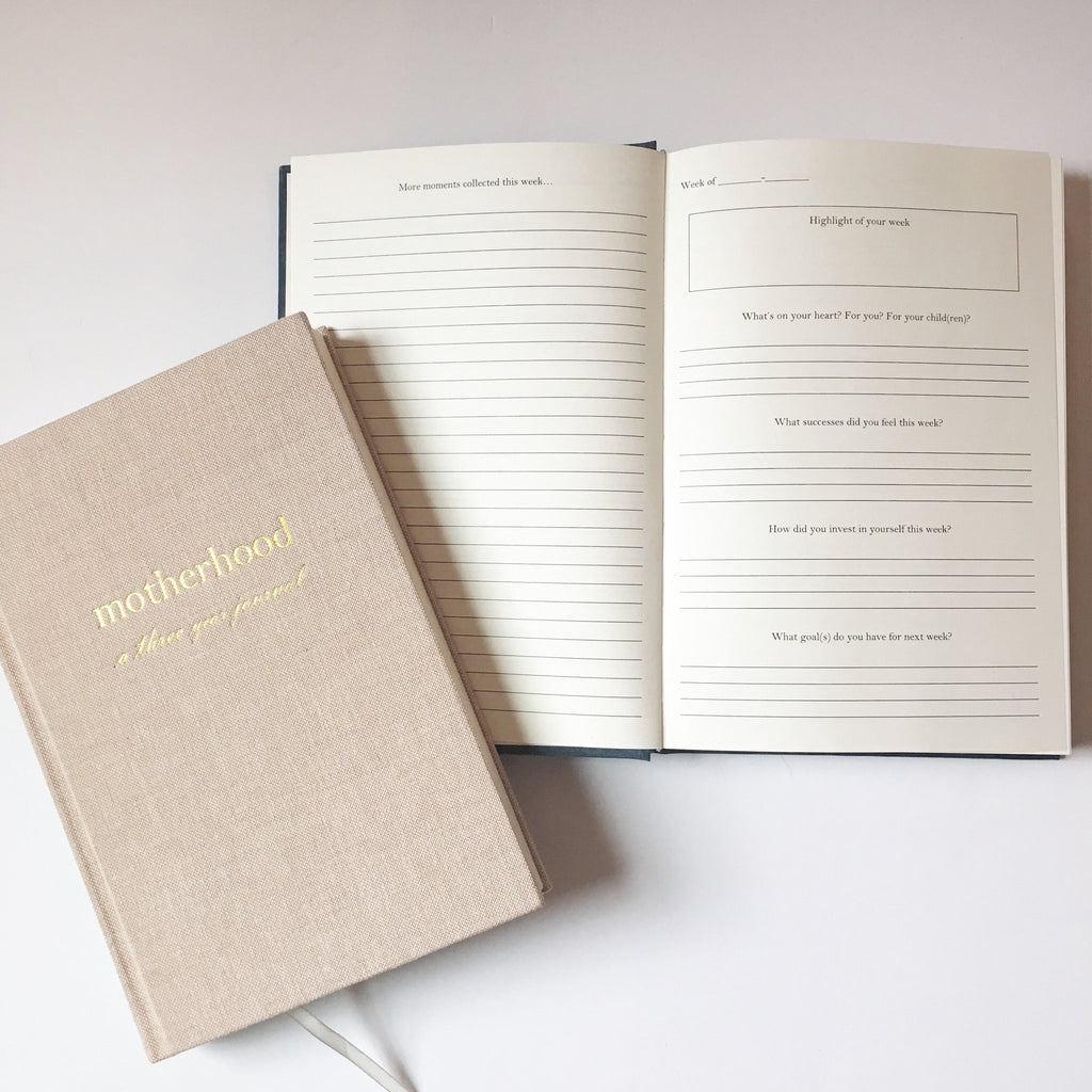 J. Sperling Paperie--Motherhood // A Three Year Journal