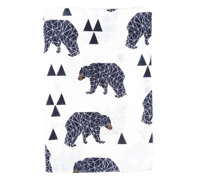 Wild Bear Adventure Swaddle
