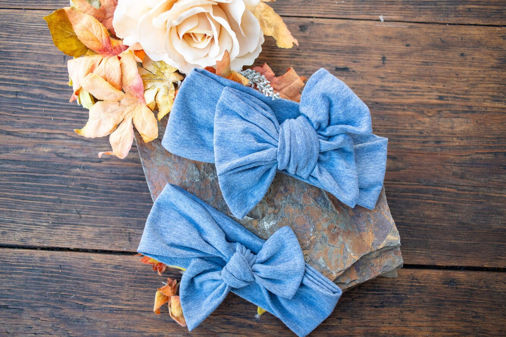 Denim Bow or Bow Knot