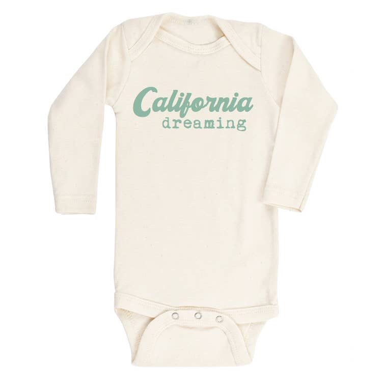 Tenth & Pine - // Seafoam California Long Sleeve Bodysuit
