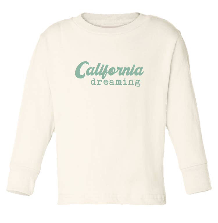Tenth & Pine - //  Seafoam California Long Sleeve Tee