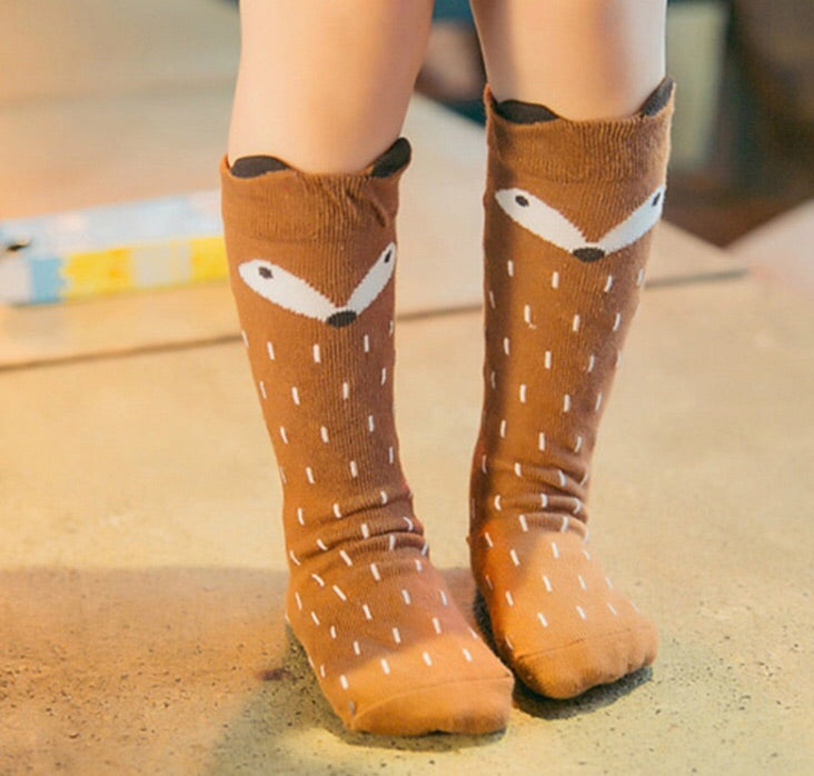Tan Fox Socks