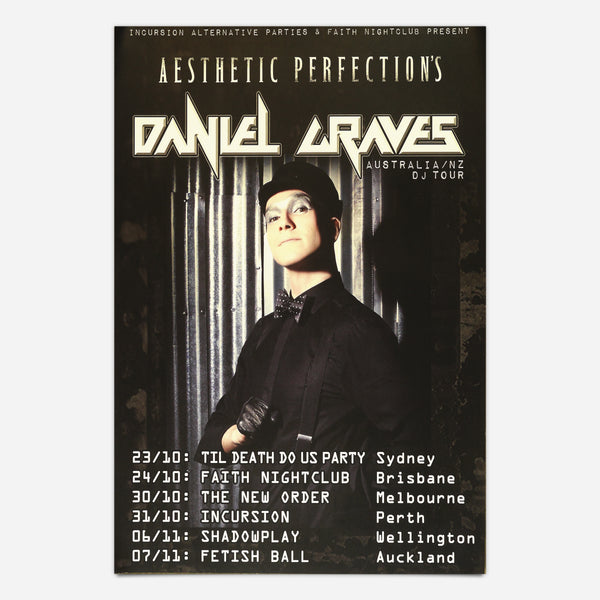 2015 North Australia and New Zealand Tour // Poster