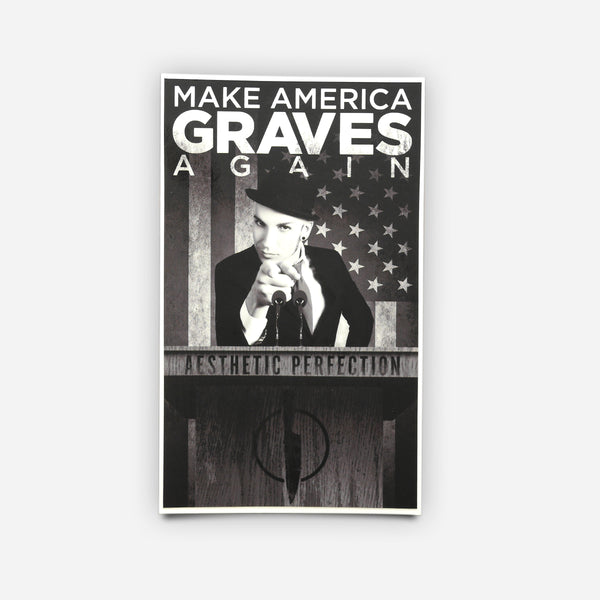 Make America Graves Again // Sticker