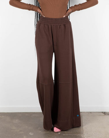 CHOCOLATE WIDE LEG PANTS