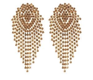 Cascade Away Chandelier Earrings