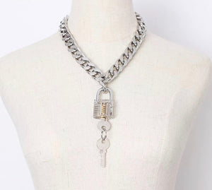 Love on Lock Necklace