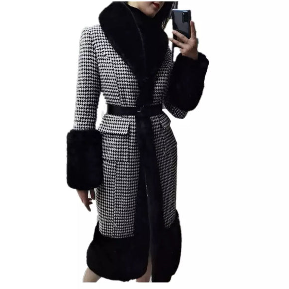Rex Fur & Tweed Coat
