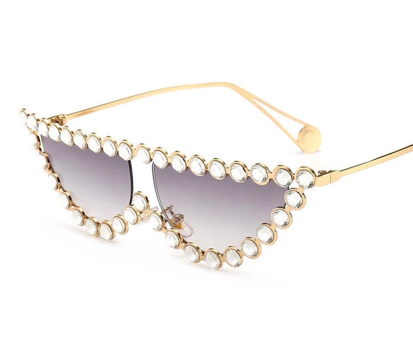 Bling Cat Eye Frames