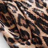 Snakeskin Trench wrap