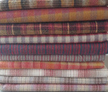 Brushed Flannels and Plaids 1/2 yard Bundle