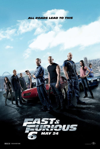 Fast & Furious 6 (Extended)(iTunes HD)