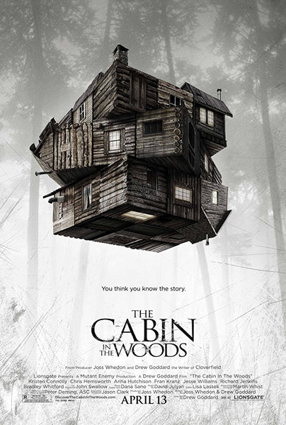 The Cabin in the Woods iTunes 4K VUDU ITUNES, MOVIES ANYWHERE, CHEAP DIGITAL movie CODES CHEAPEST