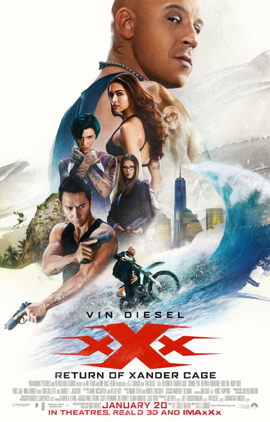 XXX: Return of Xander Cage iTunes 4K VUDU ITUNES, MOVIES ANYWHERE, CHEAP DIGITAL MOVEIE CODES CHEAPEST