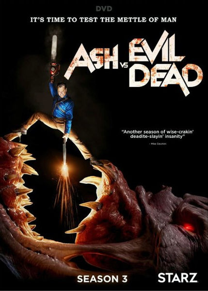 Ash vs Evil Dead: Season 3 | HD MOVIE CODES | INSTAWATCH |  UV CODES | VUDU CODES | VUDU DISCOUNTS | 4K DIGITAL CODES | MOVIES ANYWHERE DEALS | CHEAP DIGITAL MOVIE CODES | UVSPIDER | ULTRACLOUDHD | VIFGAM
