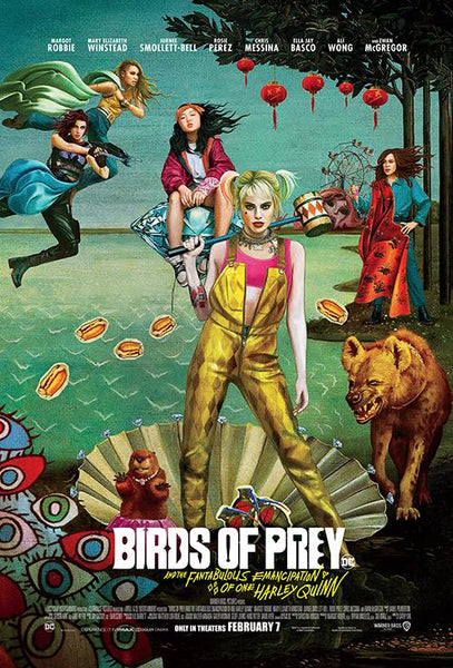 Birds of Prey: And the Fantabulous Emancipation of One Harley Quinn (InstaWatch 4K)