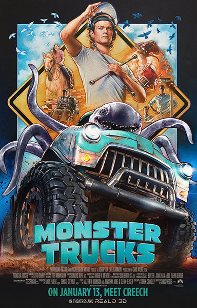 Monster Trucks HD VUDU ITUNES, MOVIES ANYWHERE, CHEAP DIGITAL MOVEIE CODES CHEAPEST