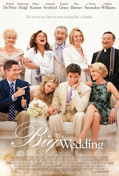 The Big Wedding HD VUDU ITUNES, MOVIES ANYWHERE, CHEAP DIGITAL MOVEIE CODES CHEAPEST