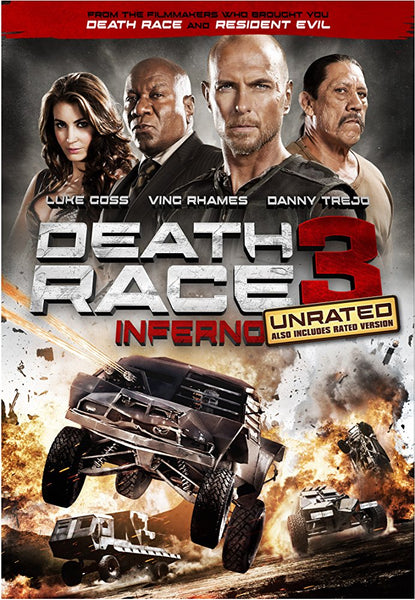 Death Race 3 Inferno Unrated iTunes HD VUDU ITUNES, MOVIES ANYWHERE, CHEAP DIGITAL MOVEIE CODES CHEAPEST