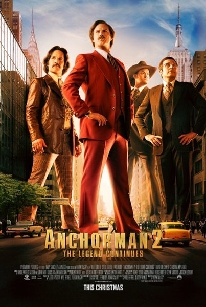 Anchorman 2: The Legend Continues | HD MOVIE CODES | INSTAWATCH |  UV CODES | VUDU CODES | VUDU DISCOUNTS | 4K DIGITAL CODES | MOVIES ANYWHERE DEALS | CHEAP DIGITAL MOVIE CODES | UVSPIDER | ULTRACLOUDHD | VIFGAM