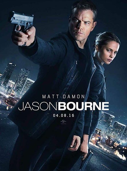 Jason Bourne Jason Bourne (iTunes 4K) (Ports to VUDU 4K)