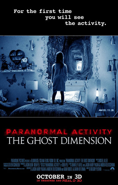 Paranormal Activity: The Ghost Dimension (Unrated) (iTunes HD)
