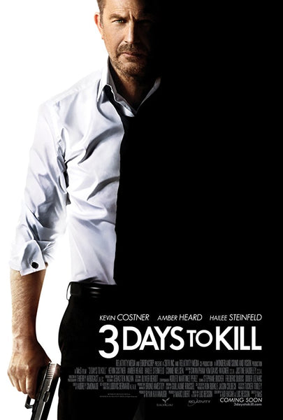 3 Days to Kill HD VUDU ITUNES, MOVIES ANYWHERE, CHEAP DIGITAL MOVEIE CODES CHEAPEST