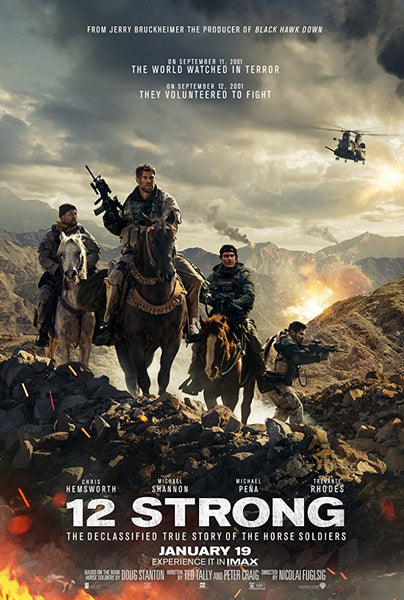 12 Strong HD VUDU ITUNES, MOVIES ANYWHERE, CHEAP DIGITAL MOVEIE CODES CHEAPEST