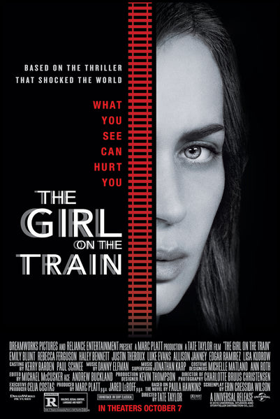 The Girl on the Train iTunes 4KPorts to VUDU 4K VUDU ITUNES, MOVIES ANYWHERE, CHEAP DIGITAL movie CODES CHEAPEST