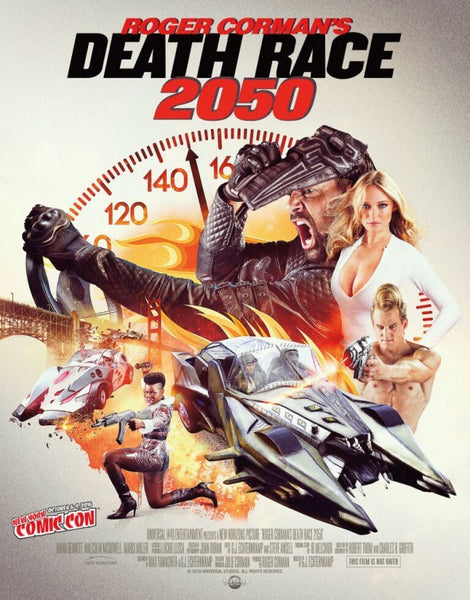 Roger Corman's Death Race 2050 HD VUDU ITUNES, MOVIES ANYWHERE, CHEAP DIGITAL MOVEIE CODES CHEAPEST